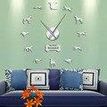 Борзая виппет настенные художественные DIY гигантские настенные часы борзая домашний декор порода собак эксклюзивные настенные часы подаро...