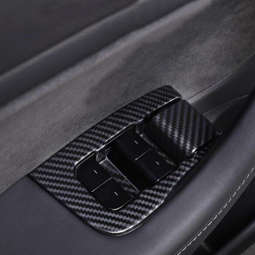 For Tesla Model 3 Car Interior Door Armrest Panel Window ...