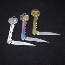 Keychain Keyring-Ring Key-Knife Pocket Multi-Tool Fold Self-Defense Tactical Security