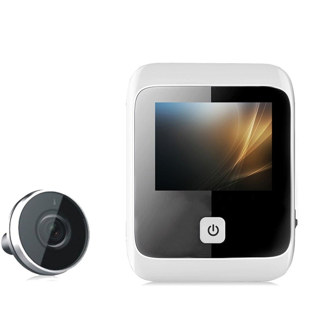 3.0 pouces interphone numérique LCD caméra intelligente visionneuse moniteur porte détection sonnette judas sécurité