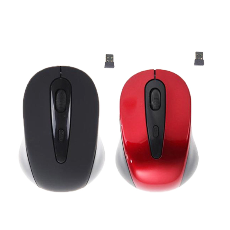 Mouse 1600DPI Computer Office-Mice Usb-Receiver Optical Cordless 4 with Universal