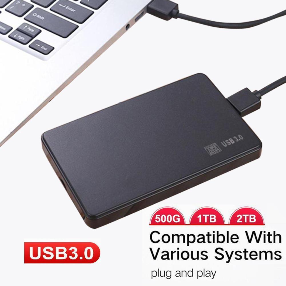עגלות פג 500GB / 1 / 2T USB נייד 3.0 HDD אחסון חיצוני נייד כונן קשיח למחשב נייד עבור Windows 98/2000 / XP / Vista / 7/8/10 (1)