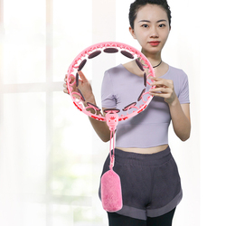 New Generation Fitness Body Building Slimming Musculation Exercise Thin Waist Sports Hoop That Won't Fall Off