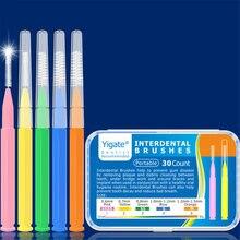 30 шт/компл я формы для чистки межзубных пространств denta зубная