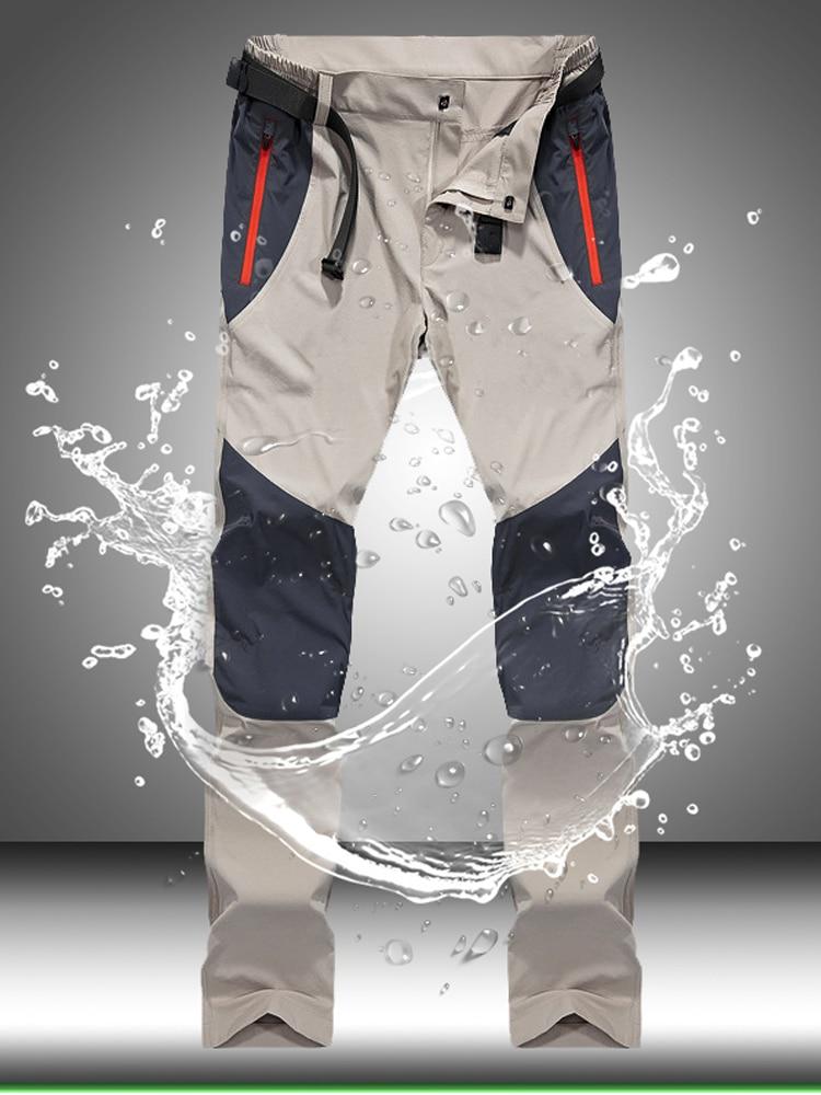 Waterproof Pants Trousers Spring Trekking Men Cargo Outdoor Tactical Quick-Dry Sports