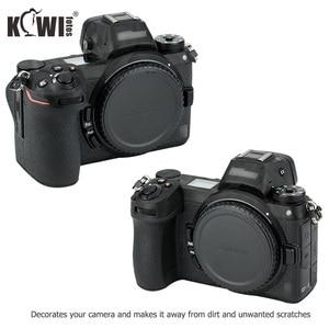 Image 4 - Anti rayures caméra corps couverture 3M autocollant protecteur pour Nikon Z7 Z6 anti dérapant support de prise en main peau garde bouclier ombre noir
