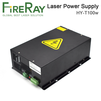 FireRay  80W-100W CO2 Laser Power Supply Source for CO2 Laser Engraving Cutting Machine HY-T100 Long Warranty hy t100 good quality high power co2 laser tube power supply laser machine for engraving and cutting