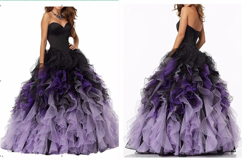 Cheap Quinceanera Gowns Sweetheart Burgundy Prom Evening Gown Ruffles Vintage 2018 Ball Gown Mother Of The Bride Dresses