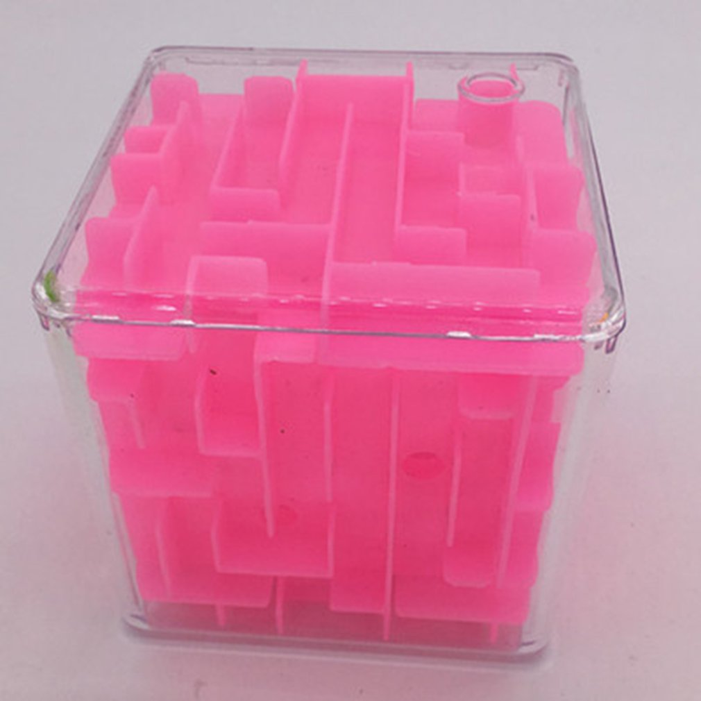 2018 6 Sides Funny 3D Speed Cube Puzzle Game Maze Magic Cube Puzzle Labyrinth Ball Toys Magical Maze Ball Games Educational Toys