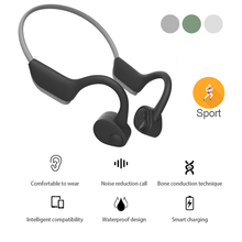 Wireless Bluetooth 5.0 Headphones Bone Conduction Earphone H