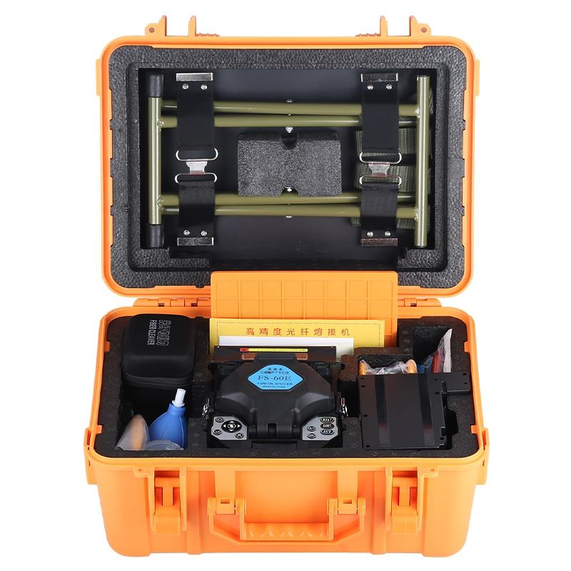Продвижение нового продукта FS-60E AUA Автоматического оптического волокна сварочный аппарат интеллектуальные FTTH сварки оптических волокон с машины