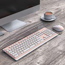 1 комплект ультра-тонкий Бизнес Беспроводной клавиатура 2,4G с низким уровнем Шум Беспроводной Мышь мыши для Mac ПК Windows XP/7/10 ТВ коробка