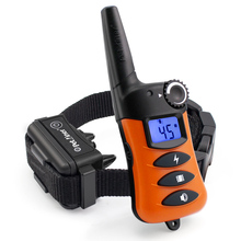 Petrainer 620A 1 300m Rechargeable&Waterproof Dog Training Collar Training Stimulations With LCD Screen