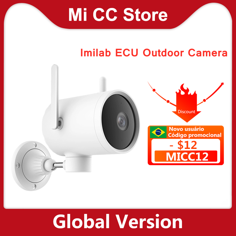 Global version Imilab EC3 Outdoor IP camera smart AI night vision Security home camera 2K HD CCTV Wi Fi Hotspot Router Rotatable|Surveillance Cameras| - AliExpress