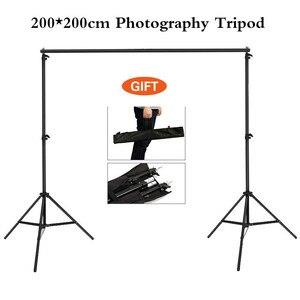 2*2 м фотостудия фон рамка складной штатив Стенд фоны рамки для видеостудии фотографические аксессуары и сумка