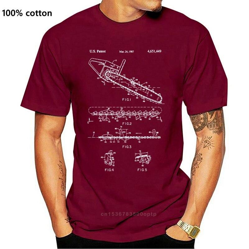 Scie à chaîne chemise paysagiste cadeau arboriculteur bûcheron équipement de coupe tronçonneuse