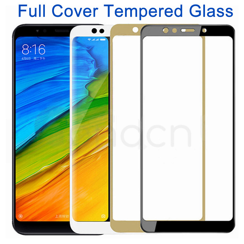 9D Tempered Glass For Xiaomi Redmi 5 Plus 5A 4 4X 4A S2 K20 Go Safety Screen Protector Redmi Note 5 5A Pro Protective Glass Film