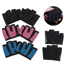 Gloves for Crossfit Power-Weight-Lifting Bodybuilding Hand-Protector Gym Half-Finger