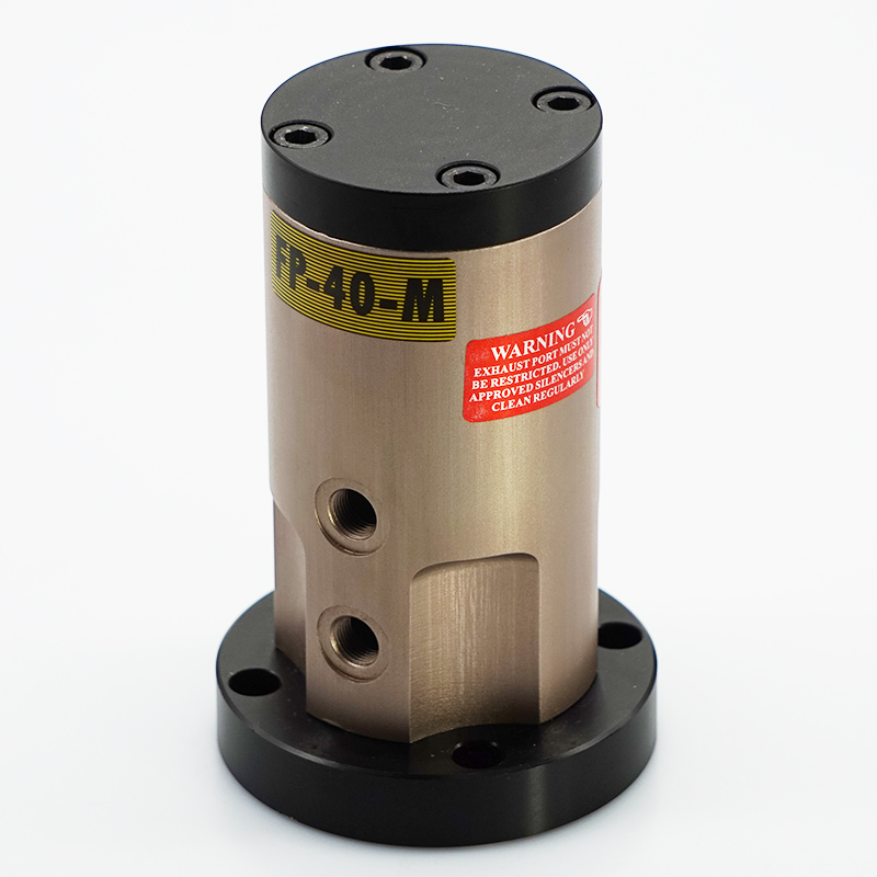 Free Shipping  Industrial New FP Series Pneumatic Piston Vibrator FP-40-M with base free ship via air express