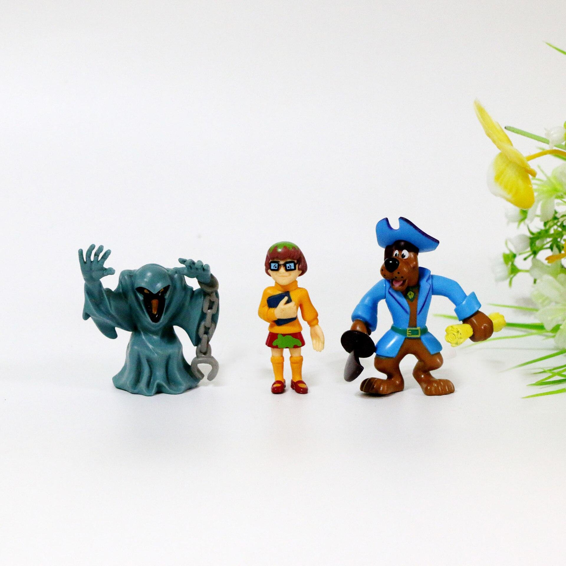 "4.5/"" Scooby Doo Cartoon Hanna Barbera Lady Girl Daphne Action Figure Toy"