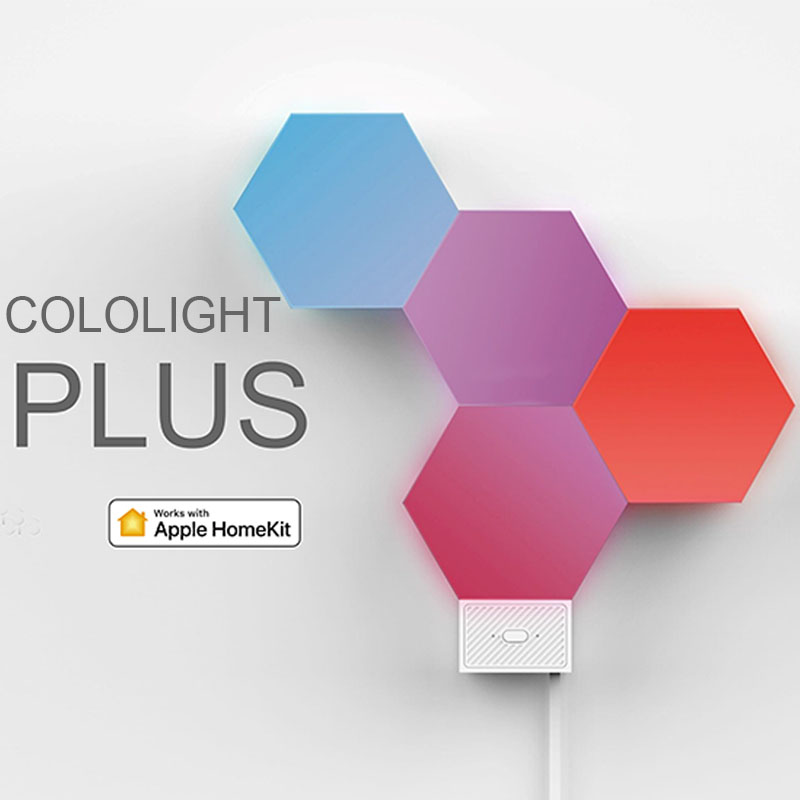 Lifesmart New Cololight Plus Quantum Lamp Night Light Work With Apple HomeKit Google Assistant Amazon Alexa Sounds To Colors