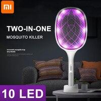 Für Xiaomi Elektrische Zwei-in-One-10 LED Falle Moskito Mörder Lampe 3000V Bug Zapper USB Anti insekt Bug Zapper Sommer Moskito net