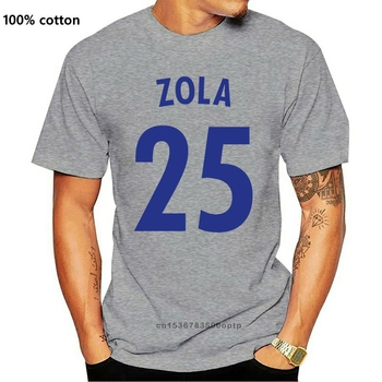 Gianfranco Zola Vector Hero Legends Adult T-Shirt Tee Sizes S-XXL Unofficial image