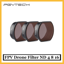 PGYTECH DJI FPV Drone Filter ND 4 8 16 Set ND 4 ND8 ND16 Camera Lens Filters for DJI FPV Combo Drone Accessorie