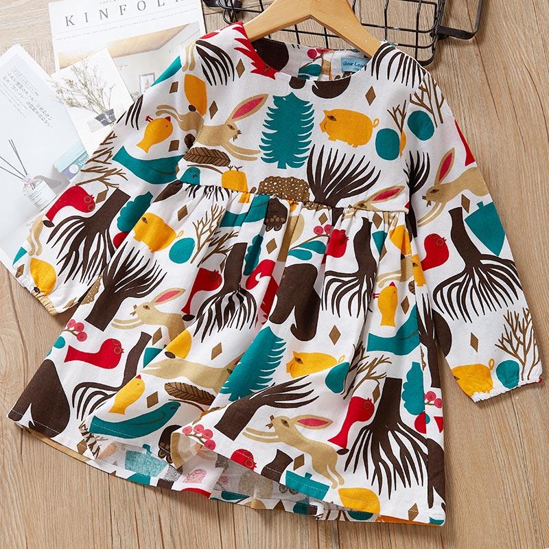 H42909fae9ec04219b20c93dce484edcdM Melario Fashion Leopard Girls Dresses Autumn With belt Kids Dress Children Clothing Princess Dress Casual Kids Girls Clothes