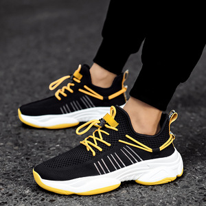 Image 5 - 2019 New Mesh Men Casual Shoes Lac up Men Shoes Comfortable Breathable Lightweight Walking Sneakers Tenis Feminino Zapatos