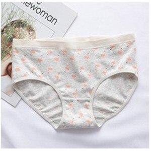 Image 5 - Girly cotton antibacterial thin breathable medium waisted large flamingo underwear TC5030