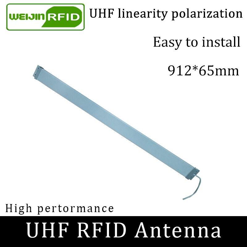 UHF RFID Strip Thin Antenna VIKITEK 915MHZ Middle Range 920-925M Self-service Library Access Door Embedded Rfid Reader Antenna