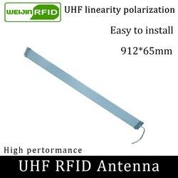 UHF rfid-лента тонкая антенна VIKITEK 915MHZ средний диапазон 920-925M самообслуживание библиотеки Дверь доступа Встроенная RFID читатель антенна