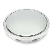 4PCS /Set 56MM Chrome Car Wheel Center Hub Caps Badge Emblem Sticker Decal Rim Dust-proof Cover for 56mm Logo