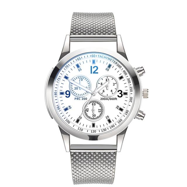 2019 Men women Watches Fashion & Casual luxury brand gold silver black Quartz Watch Stainless Steel Dial Bracele Watch Y10.17 1