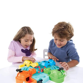 Hungry Hippo Swallowing Marbles Interactive Educational Toys Early Education Double Competitive Game Kids' Marble Game shark bite game funny toys desktop fishing toys kids family interactive toys board game