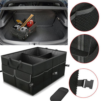 Car Storage Boxes Trunk Cargo Organizer Folding Caddy Storage Collapse Bag 2020 New Fashion Bin for Car Truck SUV image