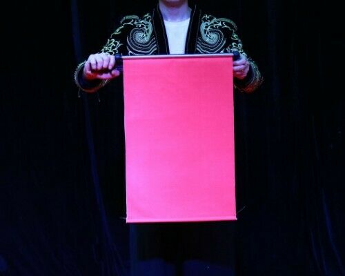 Scroll To Fan Stage Magic Tricks Illusions Fun Classic Magic Props Gimmick Mentalism Appearing Funny Trucos De Magia Party Magic