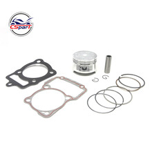 63.5MM 15MM Piston Kit Ring Gasket For Honda CG200 200CC air cooled Shineray ZongShen Lifan Taotao ATV Quad Kaya Xmotos Pit bike