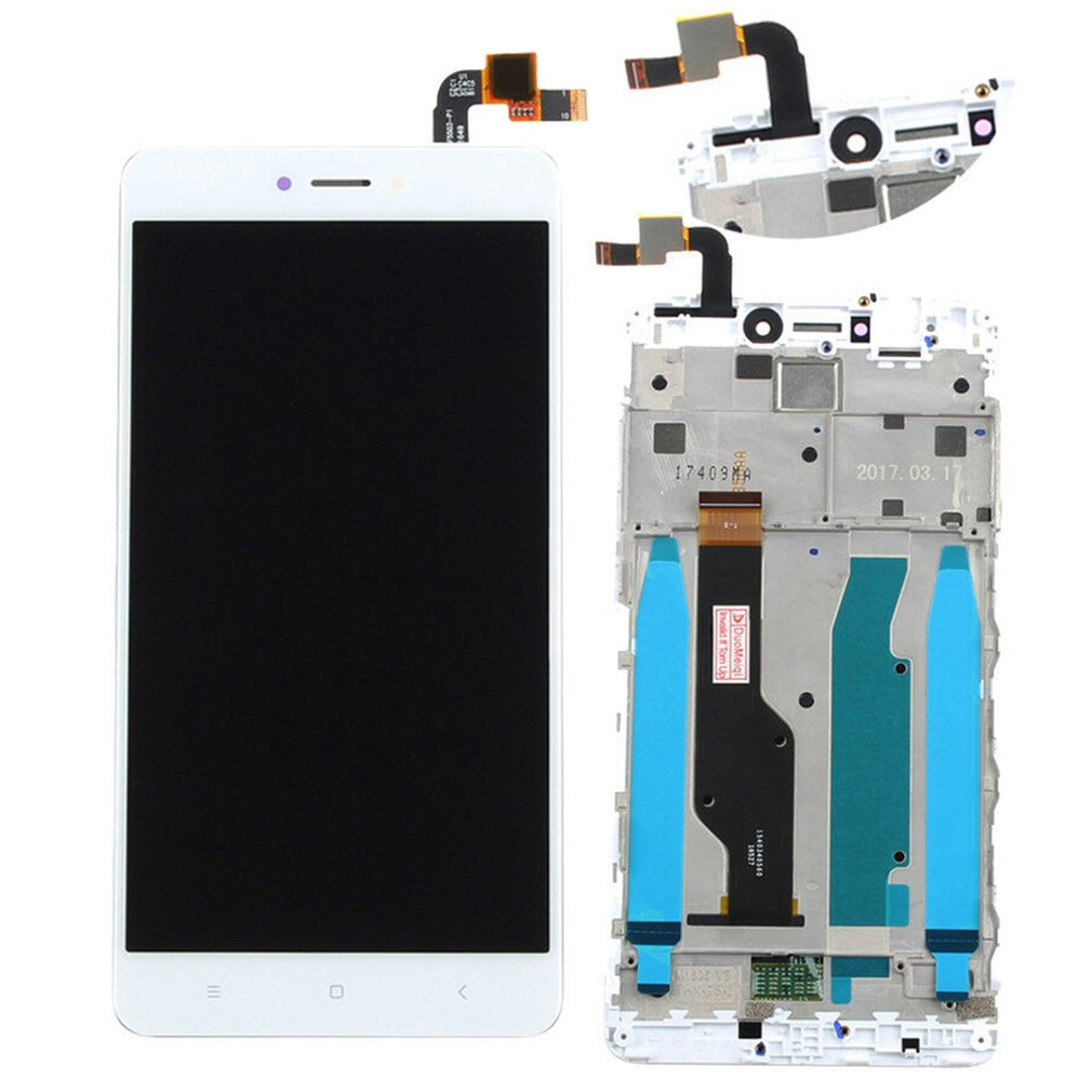 Für <font><b>Xiaomi</b></font> redmi Hinweis 4X/Hinweis <font><b>4</b></font> Globale Glas LCD display Touch Screen <font><b>Panel</b></font> Rahmen Screen Digitizer Ersatz teil image