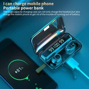 Image 2 - TWS Wireless Bluetooth 5.0 Earphone 9D HiFi Stereo Sport Waterproof Wireless Headphones Touch Mini Earbuds Headset with 2000mAh