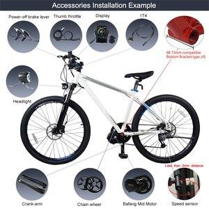 Image 5 - Bafang Motor central BBS02, 8fun para kit de conversión de bicicleta eléctrica, nuevo motor de conducción central más ponente, 48V 750W