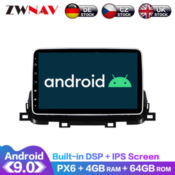 Android 9.0 IPS Screen PX6 DSP For Kia Sportage 2018 2019 2020 Car No DVD GPS Multimedia Player Head Unit Radio Audio Stereo
