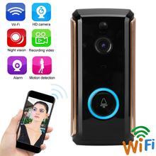 1080P HD Wifi Video Door Bell PIR Phone Control Intercom Wireless Smart Doorbell стоимость