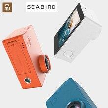 Глобальная версия) Спортивная камера youpin mijia SEABIRD 4K/30 кадров, поддержка езды, дайвинга, SDIO3.0, высокоскоростная передача, умная камера