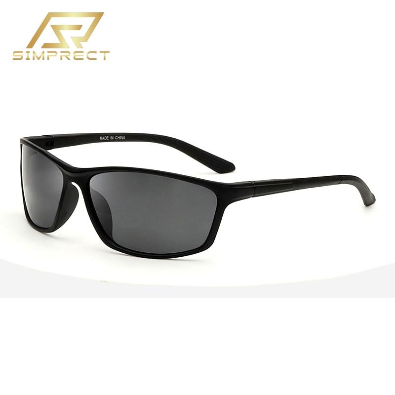 SIMPRECT 2020 модные Фотохромный поляризационные очки солнцезащитные винтажные квадратные спорт UV400 антиблик для вождения очки мужские солнечны...