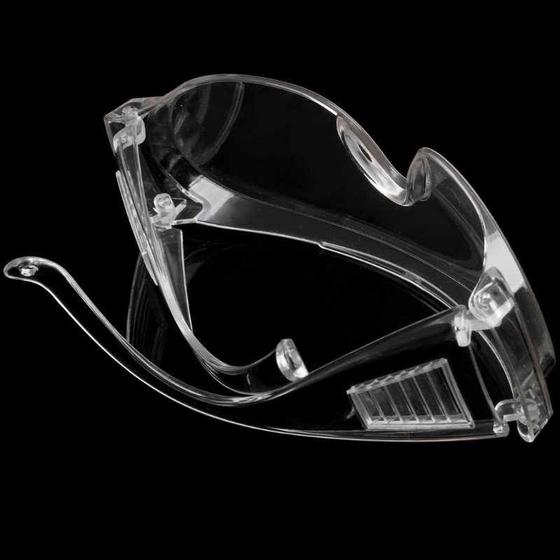 New Clear Vented Safety Goggles Eye Protection Protective Lab Anti Fog Glasses 875F