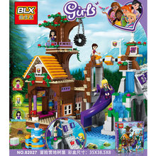797 Pcs Building Block ADVENTURE Camp Tree House (China)