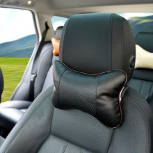 Four Seasons General Car Mounted with Stomatal Headrest Breathable PVC Leather Factory Direct