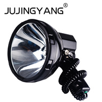 High power 220W searchlight 160W strong light long range xenon searchlight uses 12V/24V battery for hunting, car, boat, etc.